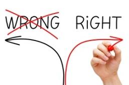 Choosing The Right Way