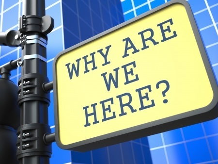 Ways of looking at questions - Why are we here - 21362172_s