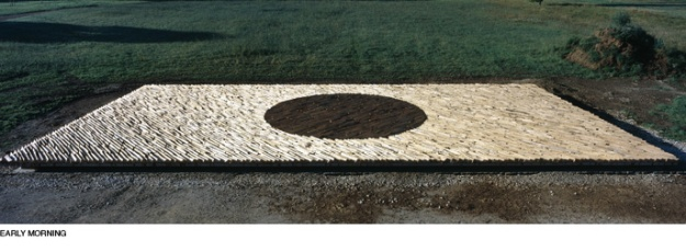 Andy Goldsworthy - Pool of Light - Early morning
