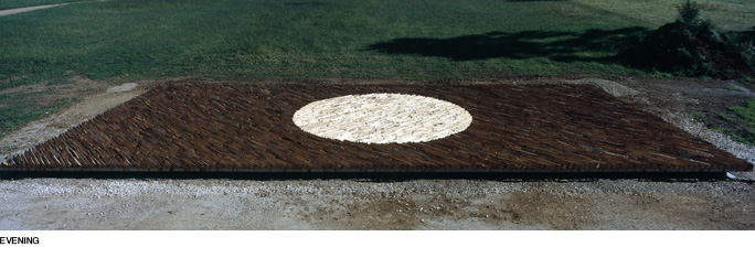 Andy Goldsworthy - Pool of Light - Evening
