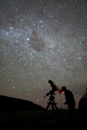 stargazing telescope