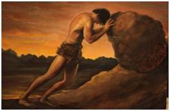 Purpose - Sisyphus and rock