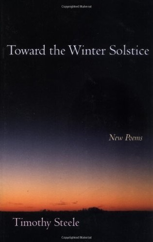 Toward the Winter Solstice
