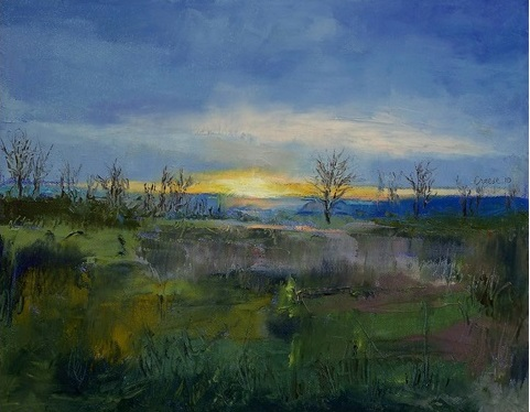 winter solstice moolight - Michael Creese