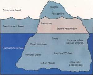freud iceberg metaphor
