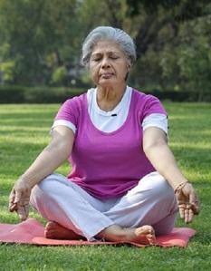 Meditate - woman 150%